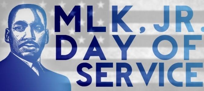 MLK Day of Service – It's a Day ON Not a Day Off